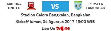 Madura United vs Persela Lamongan