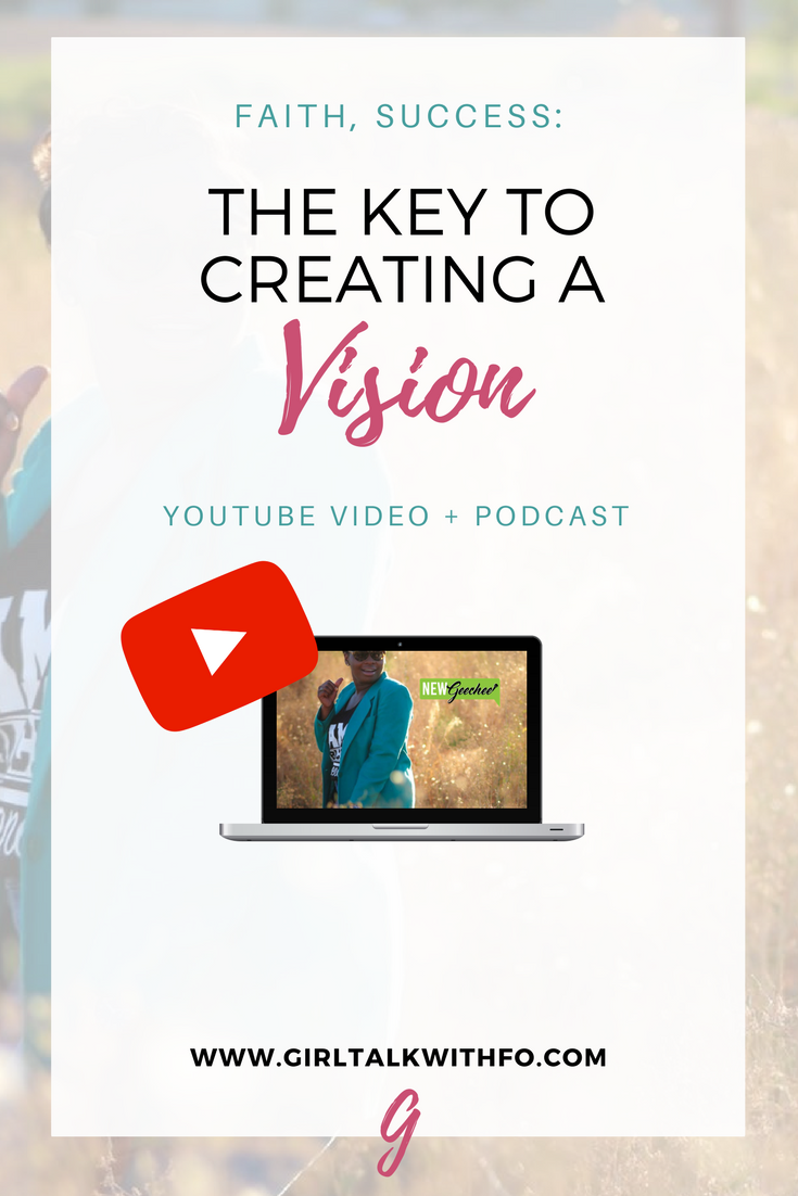 How to Create a Vision for your Life | Podcast Interview with @NewGeechee