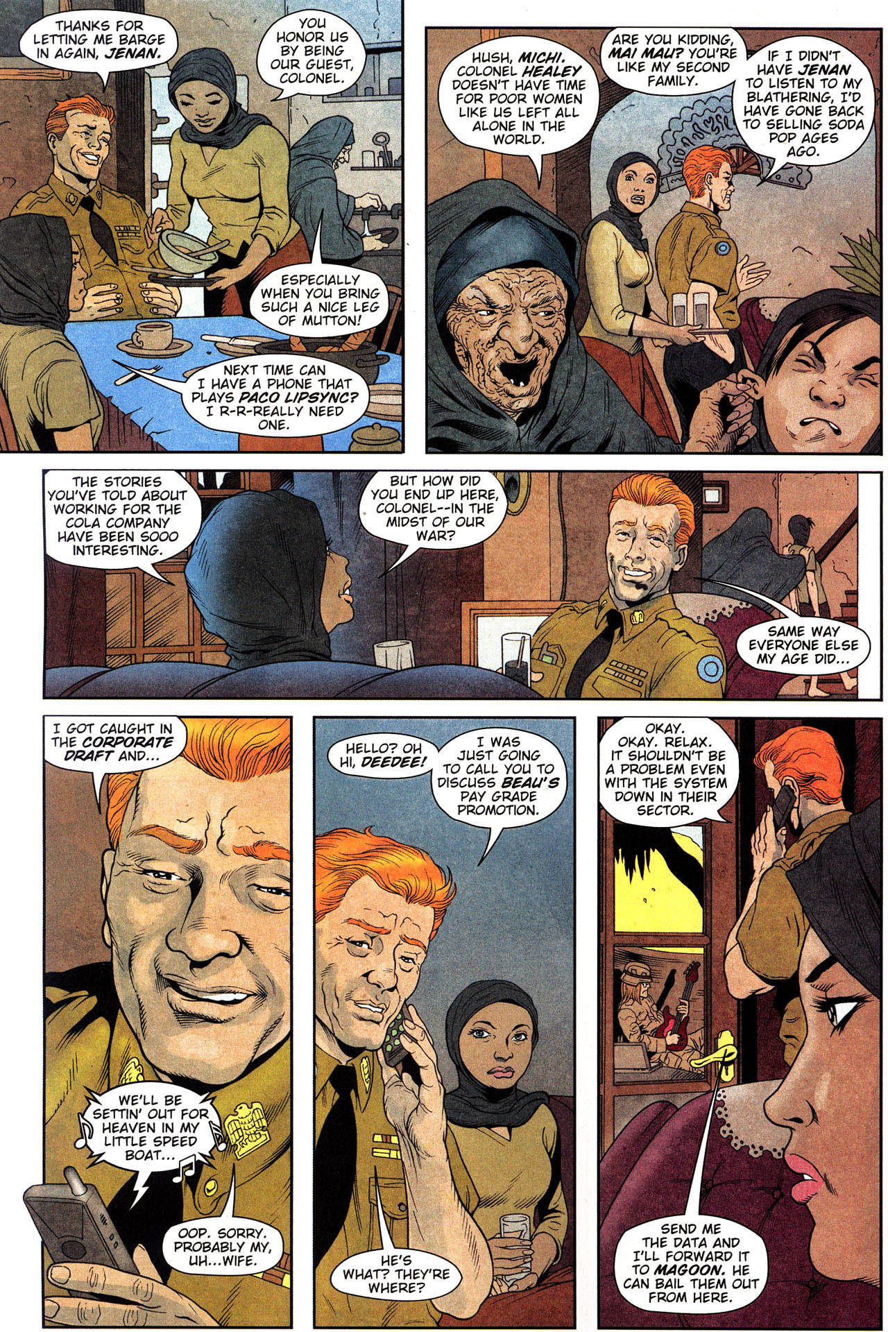 Read online Army @ Love comic -  Issue #2 - 13