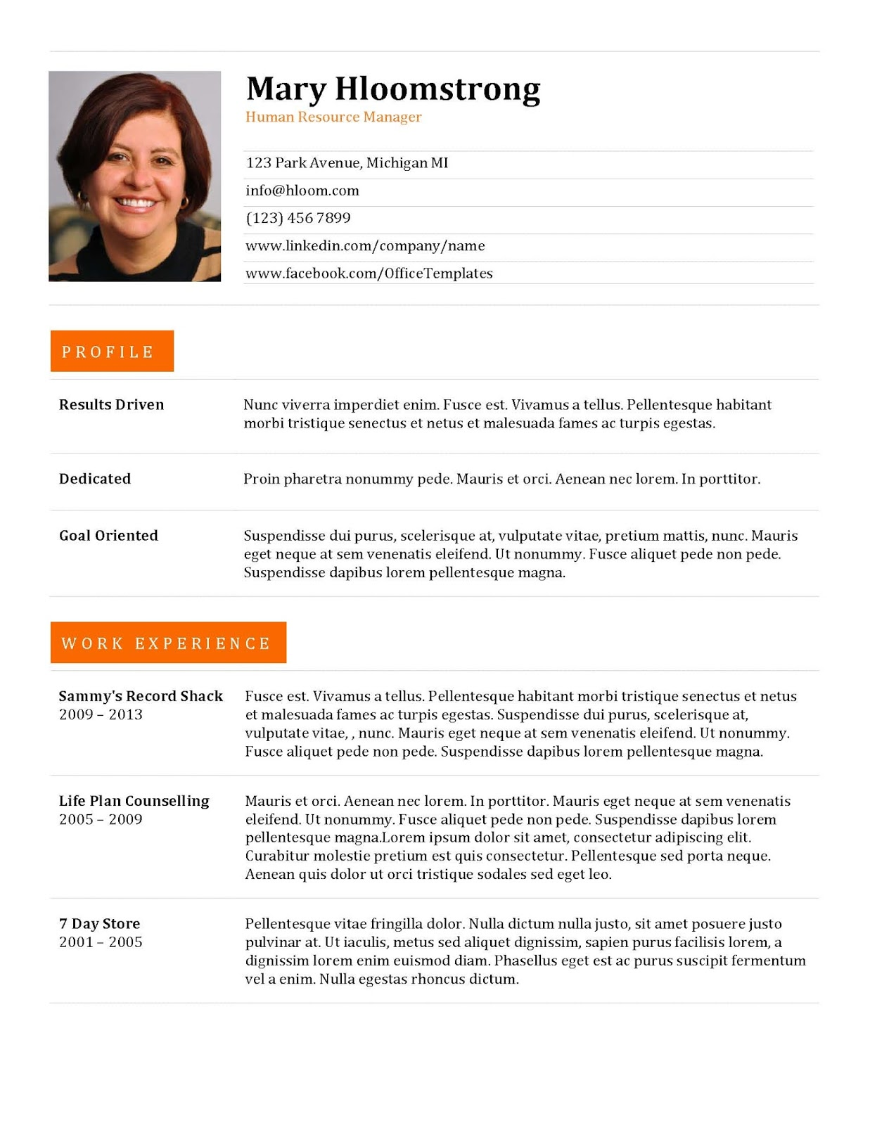 cv template jpg resume document resume maker create professional ...