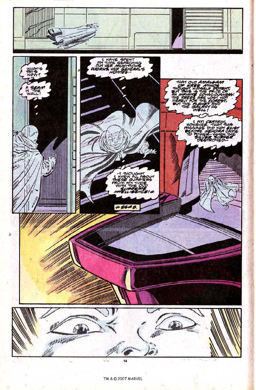 Read online Silver Surfer (1987) comic -  Issue #28 - 16