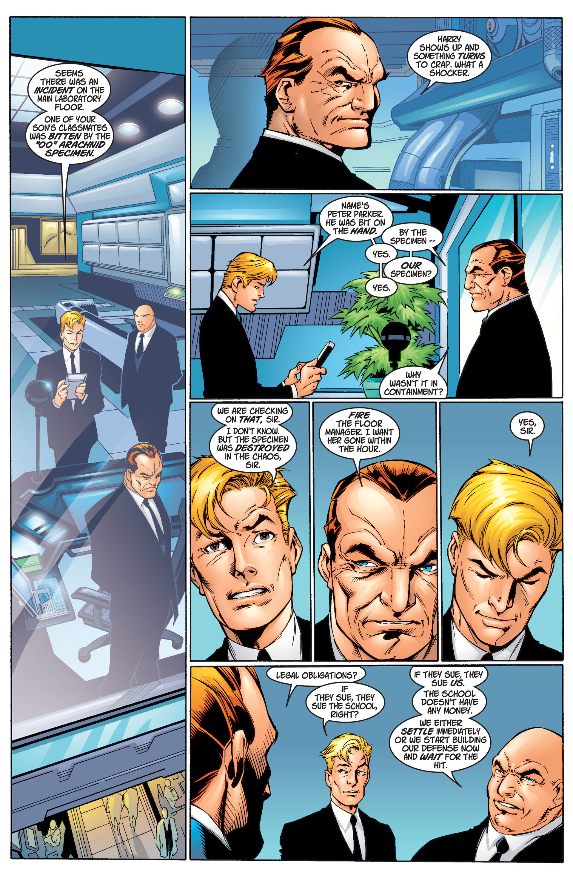 Read online Ultimate Spider-Man (2000) comic -  Issue #1 - 25