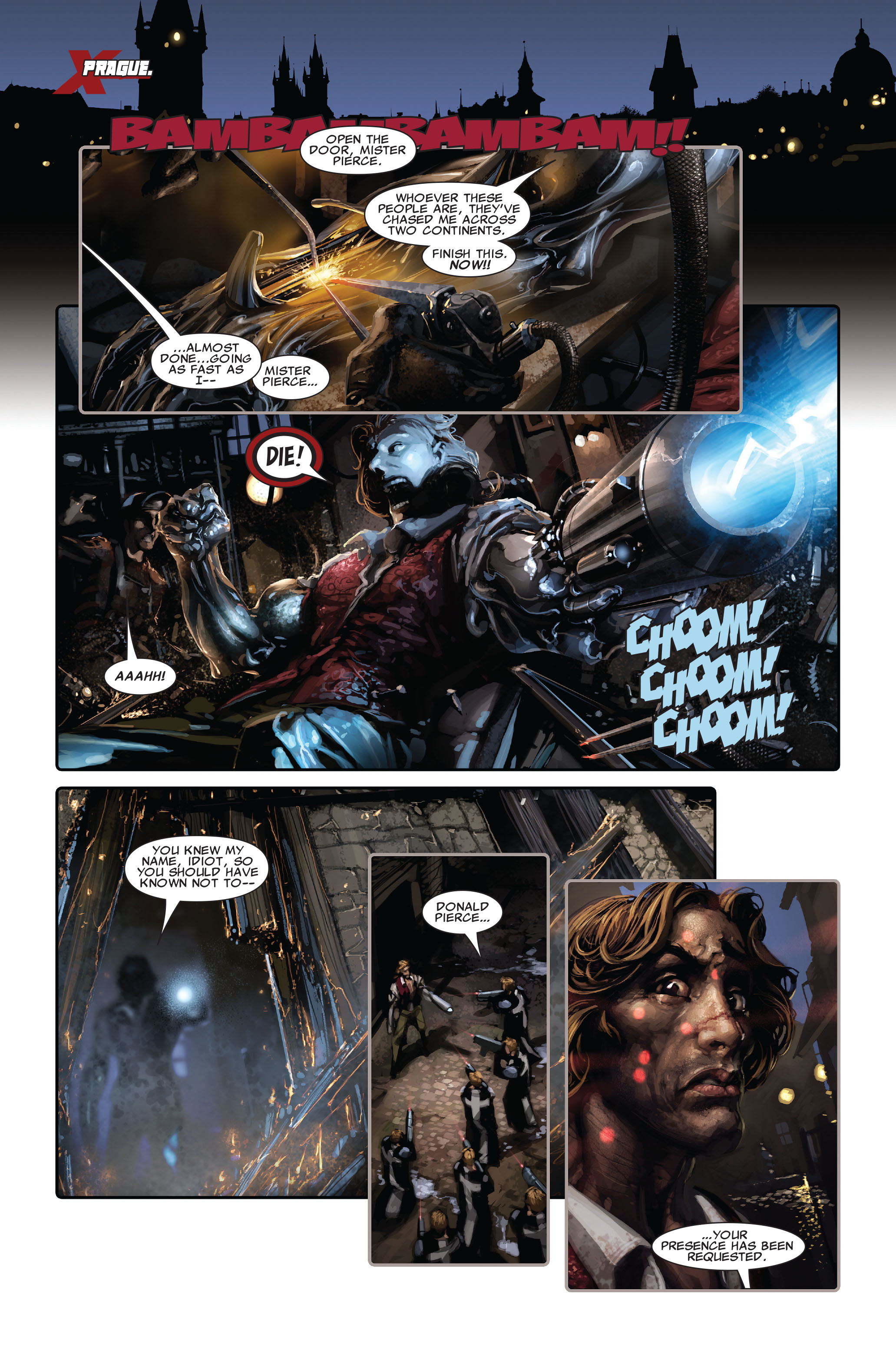 Read online X-Force (2008) comic -  Issue #3 - 3