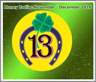 Money Lucky Horoscope November December 2016
