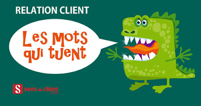 Phrases irritantes de la relation client