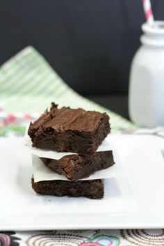 Most Viewed of the Week | Chocolate Stout Brownies from Lynsey Lou's #SecretRecipeClub #recipe #beer #brownies #dessert