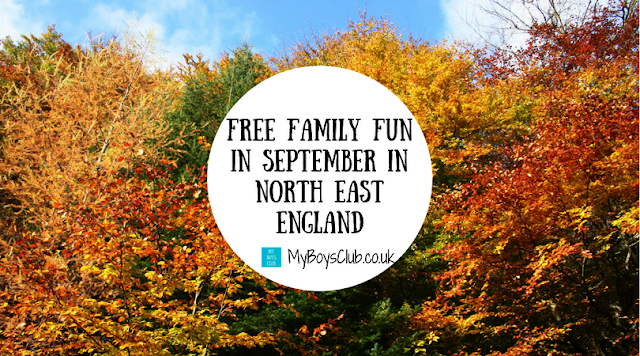 FREE Family Fun In September with Free events and activities across North East England