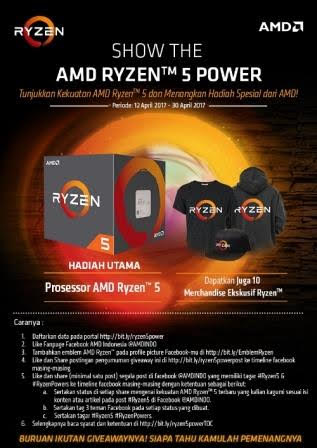 Show The AMD Ryzen™ 5 Power