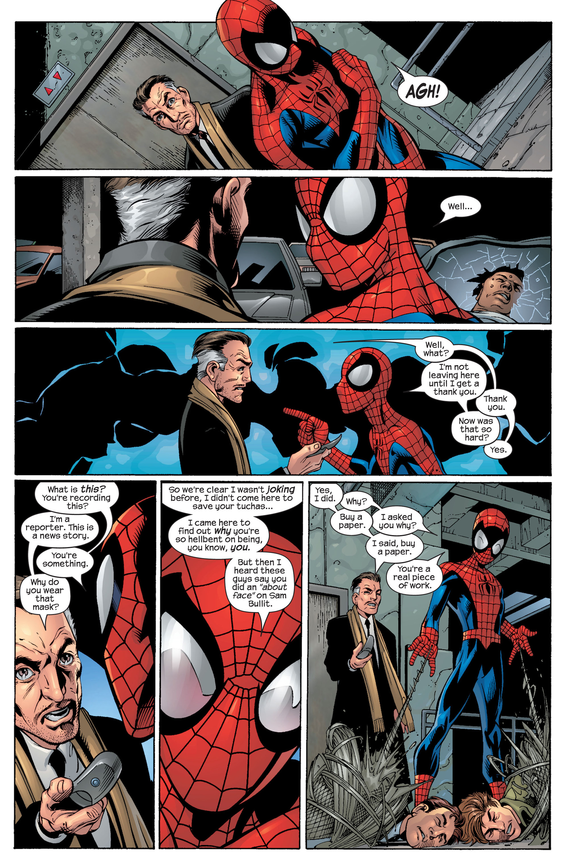 Read online Ultimate Spider-Man (2000) comic -  Issue #49 - 16