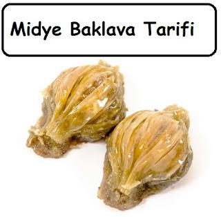 Midye Baklava Tarifi
