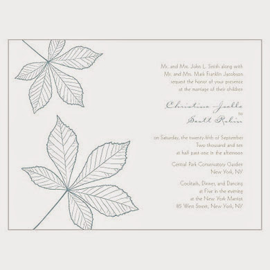 Wedding Invitations Featuring Pantone's Aquamarine