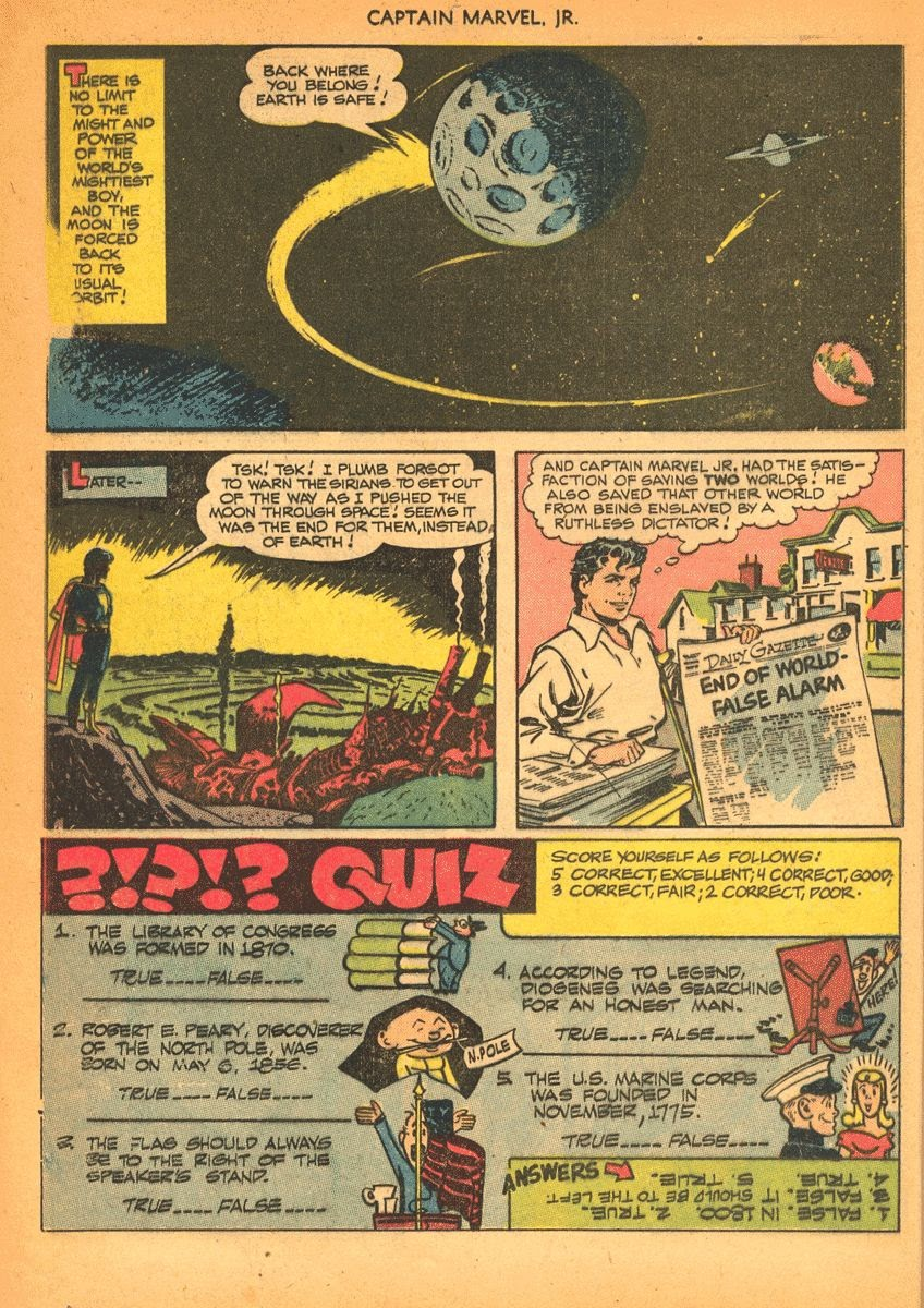 Captain Marvel, Jr. issue 84 - Page 11