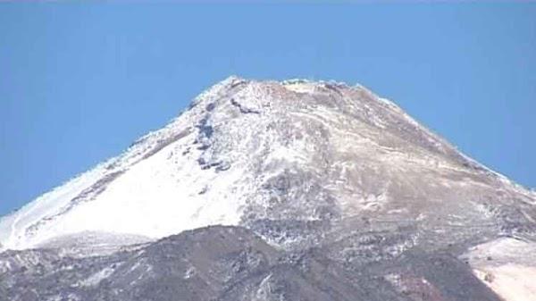 Nieva en Canarias 17 marzo