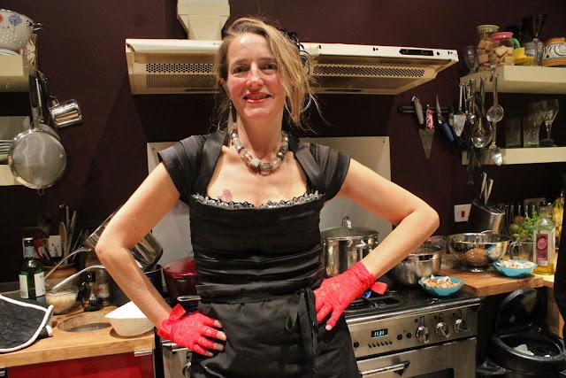 Scottish supper club hostess Karen (Honey Wild)