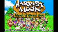 Download Harvest Moon : Friends of Mineral Town - For GBA