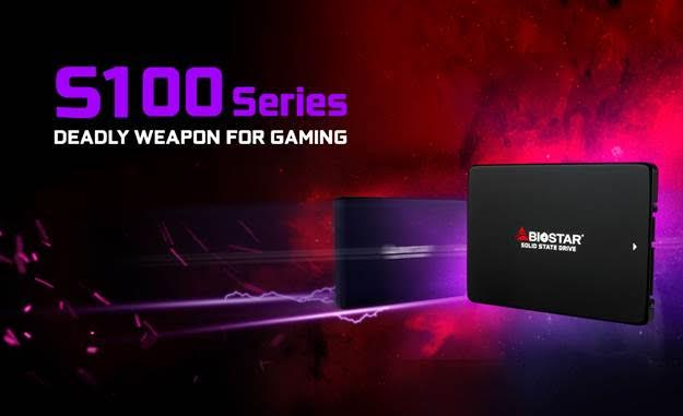 The new BIOSTAR S100 SSD: Designed for Speed