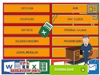 Unduh Perangkat Aplikasi Administrasi Guru Kelas Format Excel