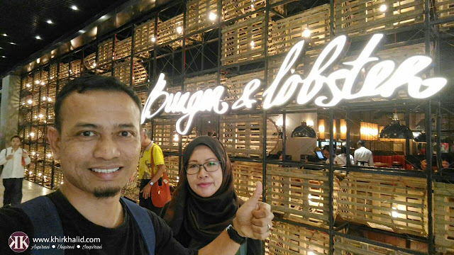 Burger & lobster sky avenue, Resorts World Genting, Khir Khalid,