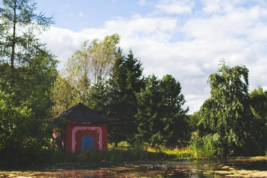 Turun yliopiston kasvitieteellinen puutarha Ruissalossa