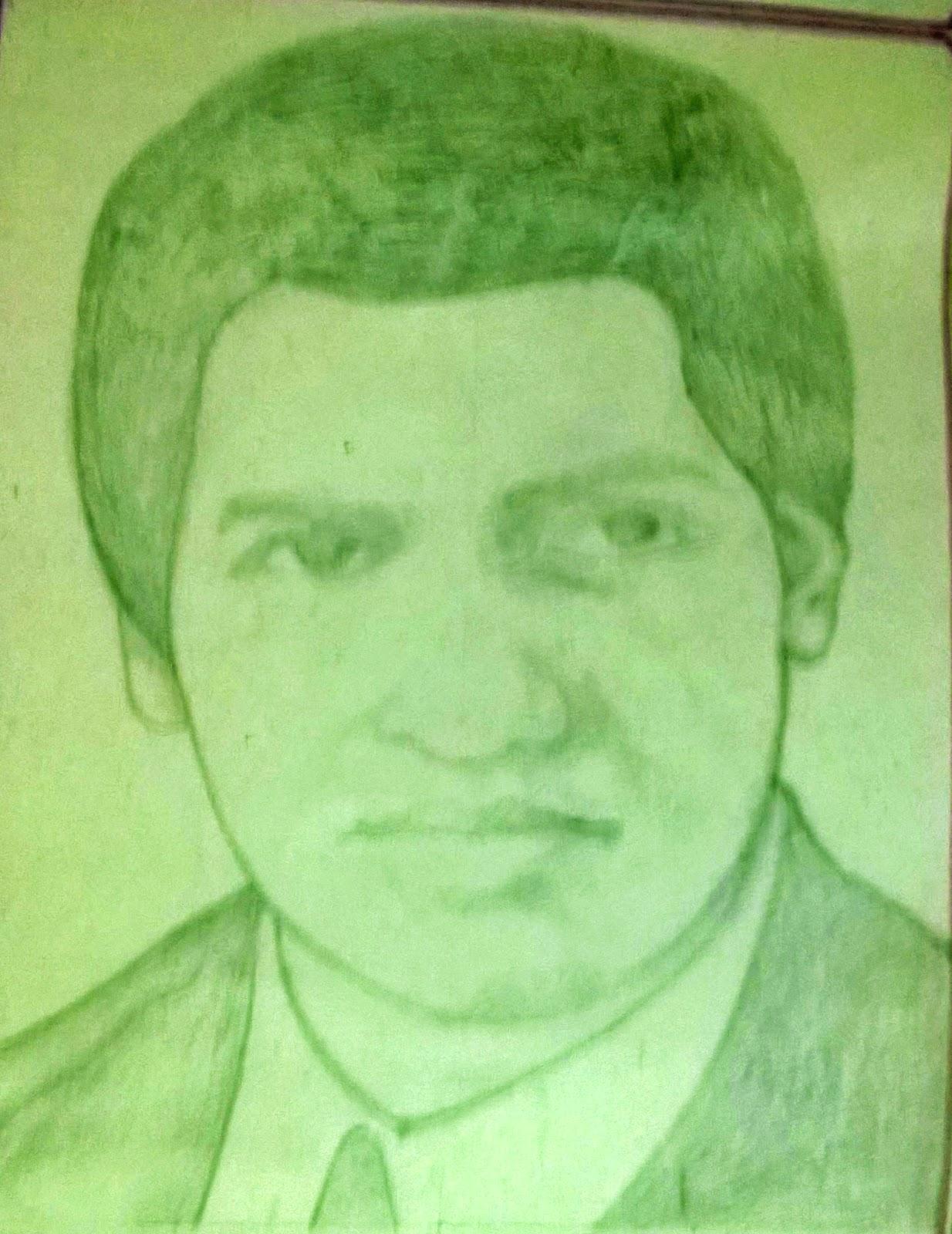 Manus sketches portraits