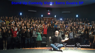 Stand Up Comedy Victor Sarro Guaíra SP