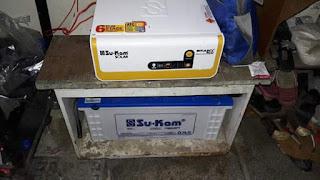 Ek battery ka solar plant