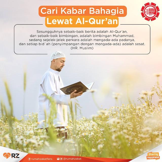 Rahasia Hidup Bahagia Bersama Al-Qur'an