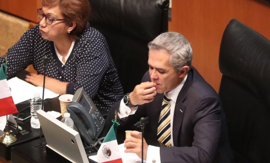 PRI, PRD, PAN y MC presionaron para reinstalar barra de alimentos en el Senado