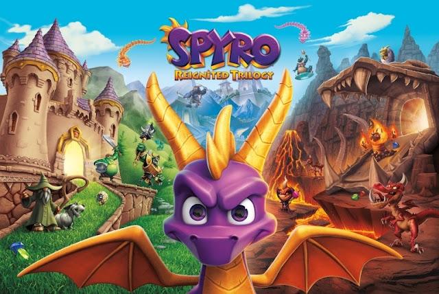 نسخة المتاجر للعبة Spyro Reignited Trilogy ستتطلب مساحة لا تصدق على الأجهزة ، إليكم التفاصيل ..