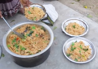 Nature Stove MUSHROOM BIRYANI Cooking in My Village | Perpared By My Mummy