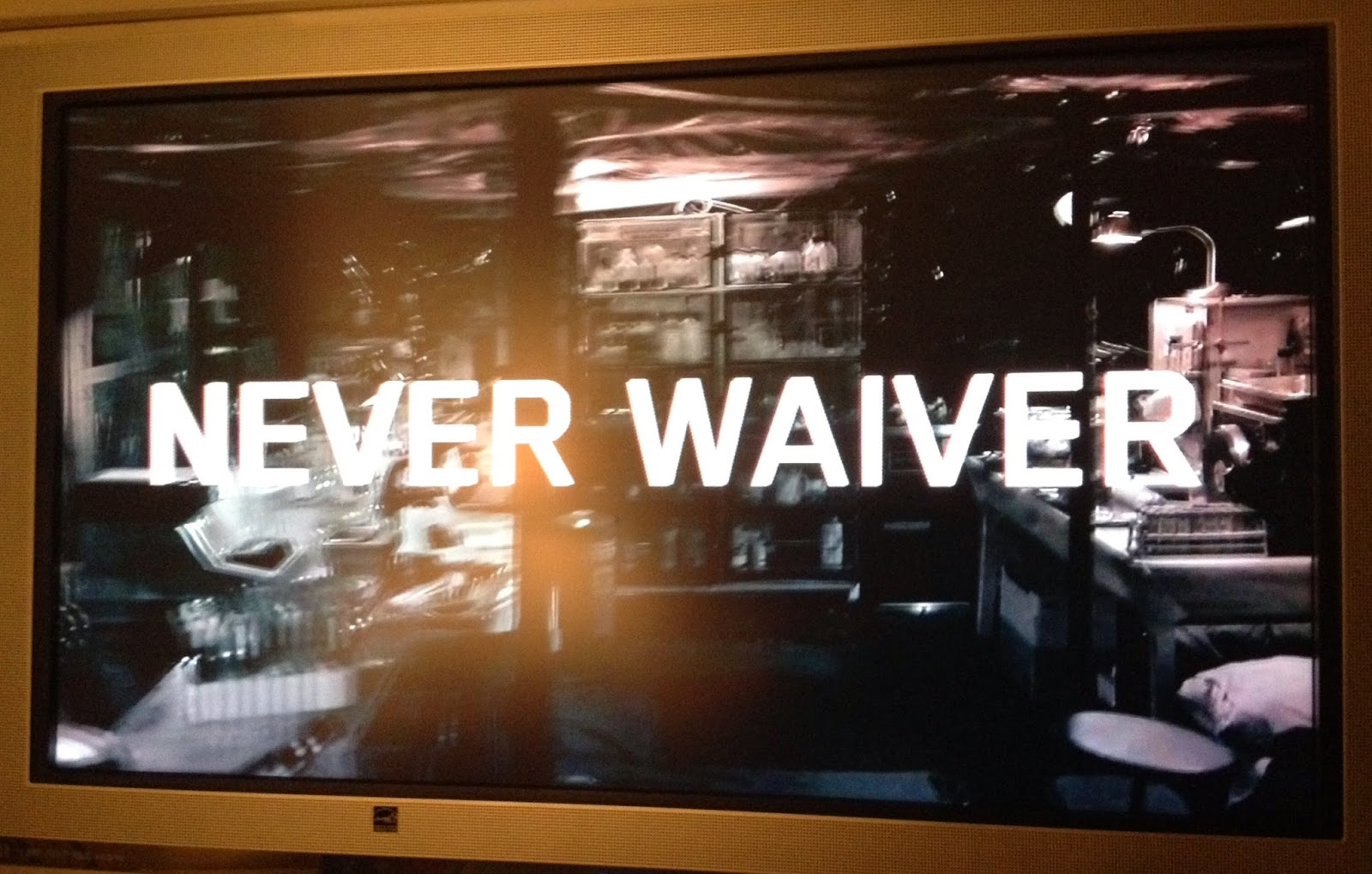 Waiver instead of Waver on TNT promo for The Last Ship