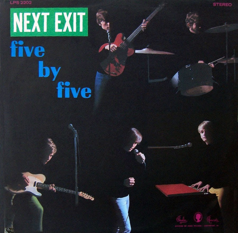 Psychedelic-Rock'n'roll: Five By Five - Next Exit (GREAT 60s GARAGE
