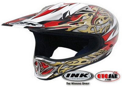 Helm Cross INK Moto X