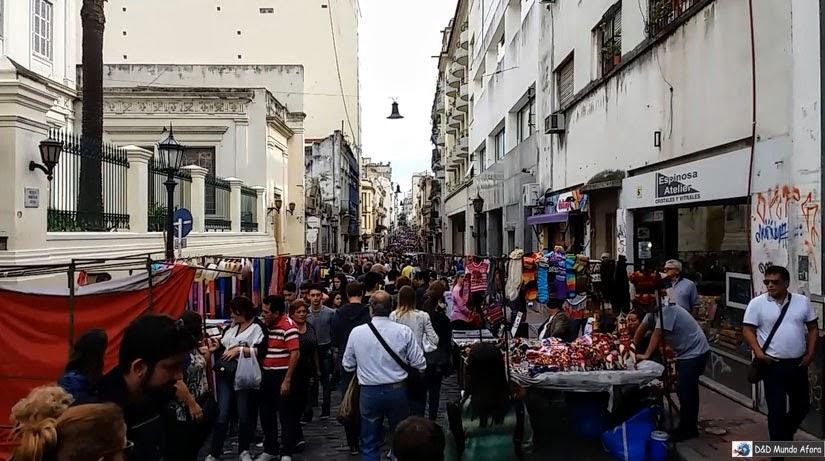 O que fazer em Buenos Aires - Feira San Telmo