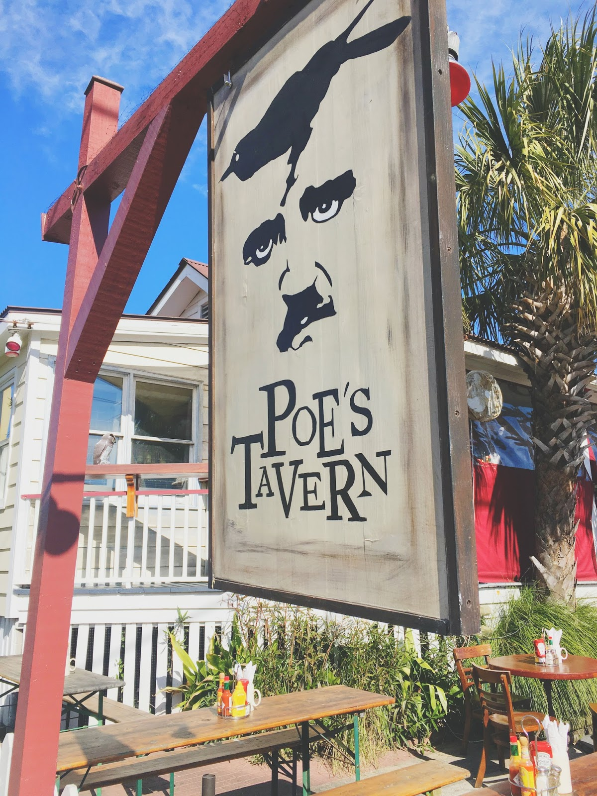 Poe's Tavern - a restaurant on Sullivan's Island in Charleston, South Carolina