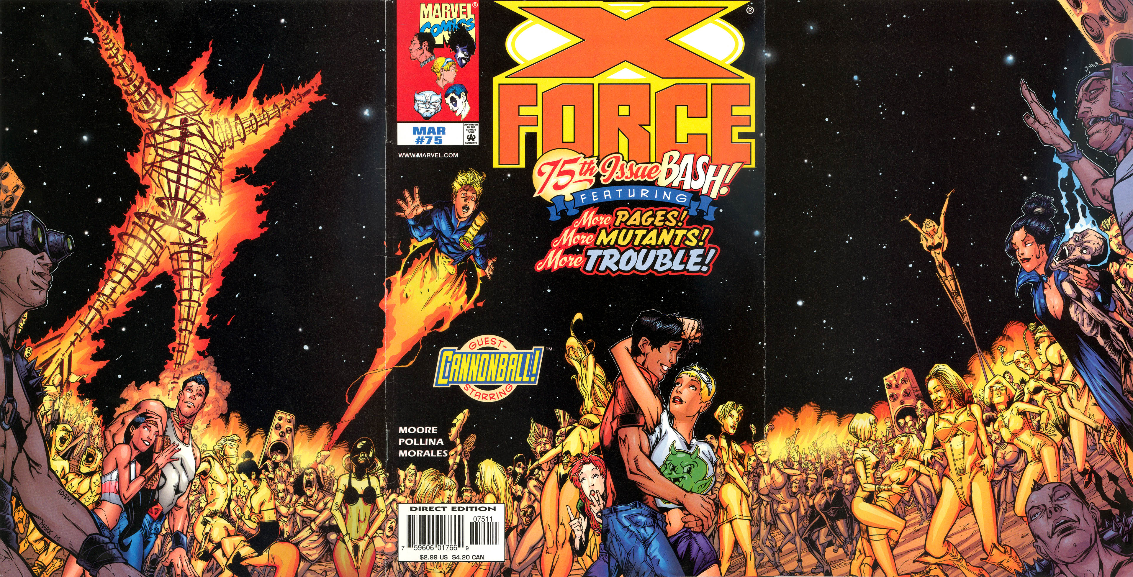 X-Force (1991) 75 Page 1