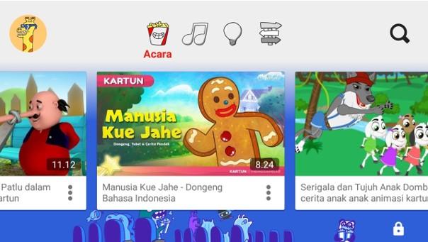 Aplikasi Youtube Kids Terbaik Buatan Google Sebagai Media Belajar Anak