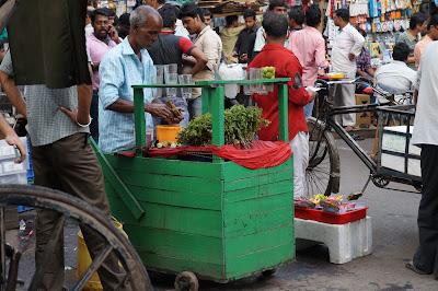 Penjual Jaal Jeera Chadni Cowk