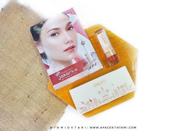 [REVIEW] Sariayu Color Trend 2018 Inspirasi Jakarta: Eyeshadow Kit & Matte Metallic Lipstick