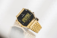 Casio A159WGED-1EF - colore fondo display