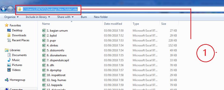 menggabungkan beberapa file excel