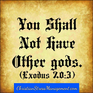 You shall not have other gods Exodus 20:3