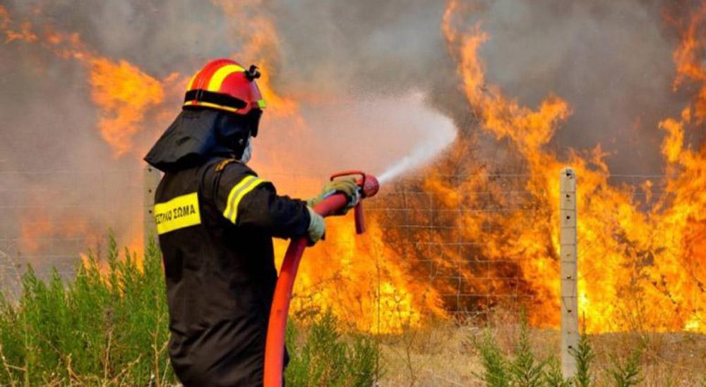 Πολύ υψηλός κίνδυνος πυρκαγιάς για αύριο Πέμπτη (Χάρτης)
