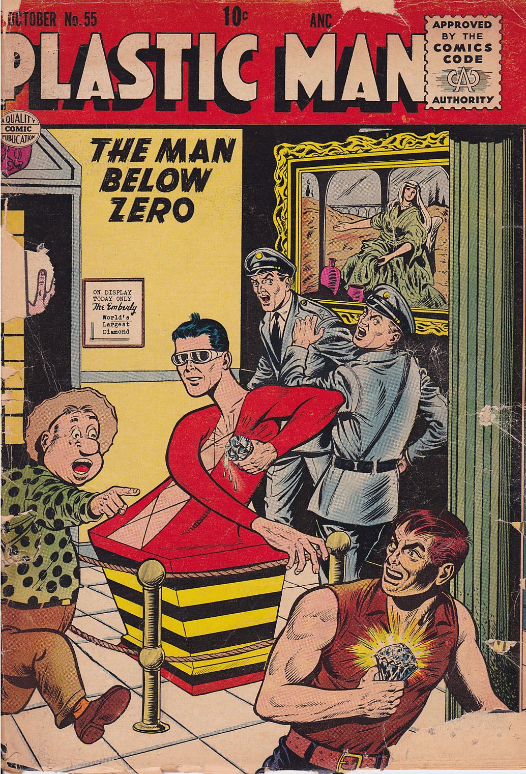 Plastic Man (1943) 55 Page 1