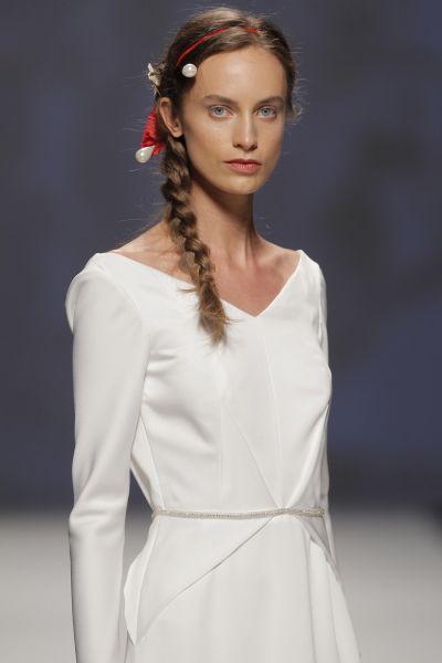 imagenes de vestidos con manga larga