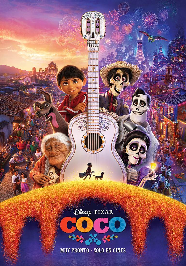 Resultat d'imatges de coco poster españa
