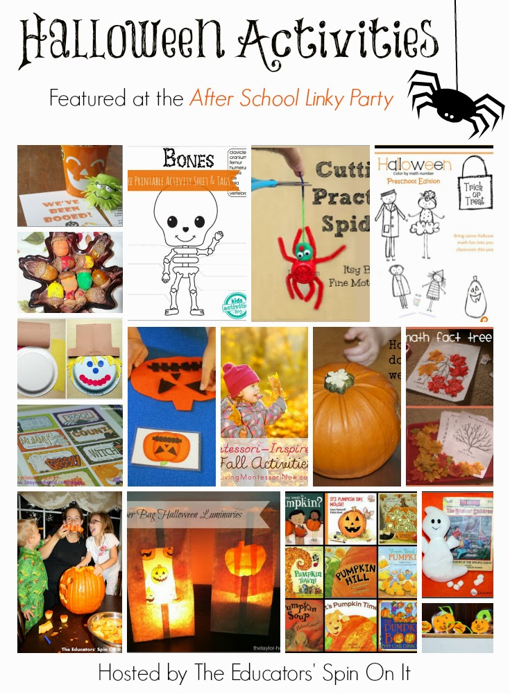 Halloween Activities For Kids The Educators Spin On It
