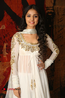 Telugu Actress Mahima Makwana Stills in White Desginer Dress at Venkatapuram Movie Logo Launch  0225.JPG