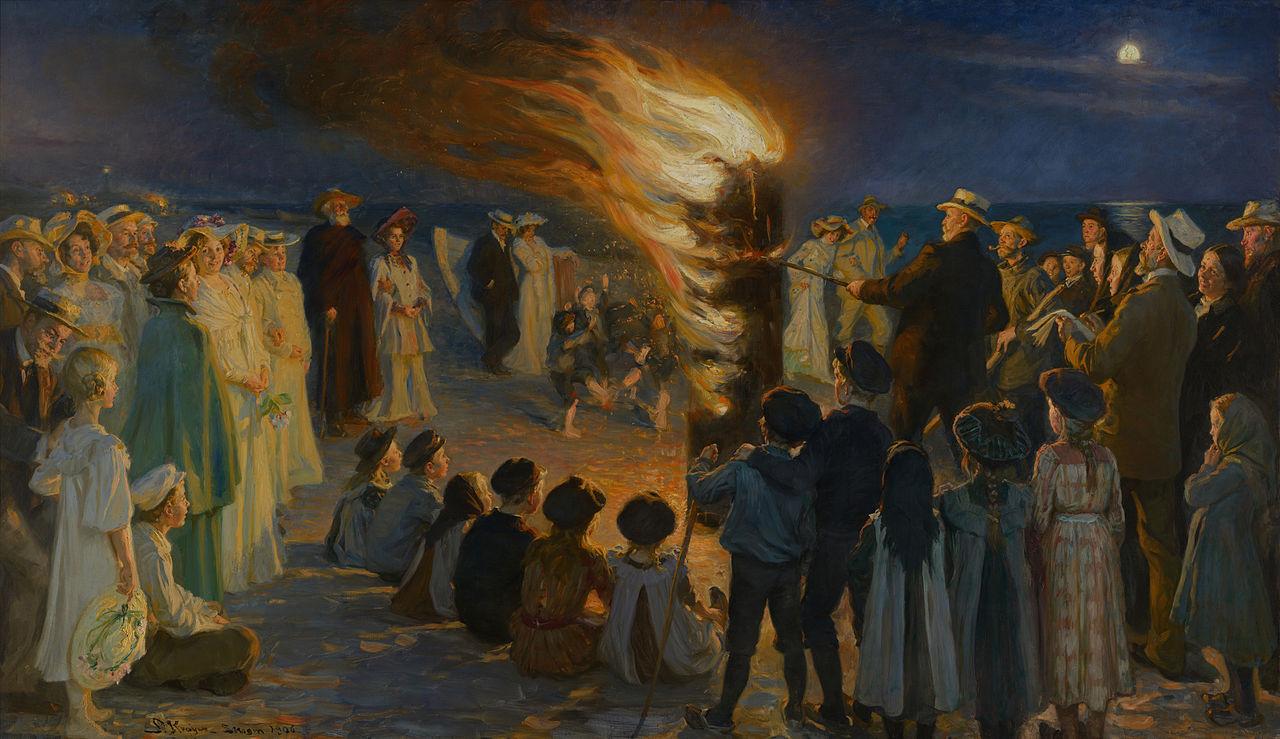 Pintura de Peder Severin Krøyer