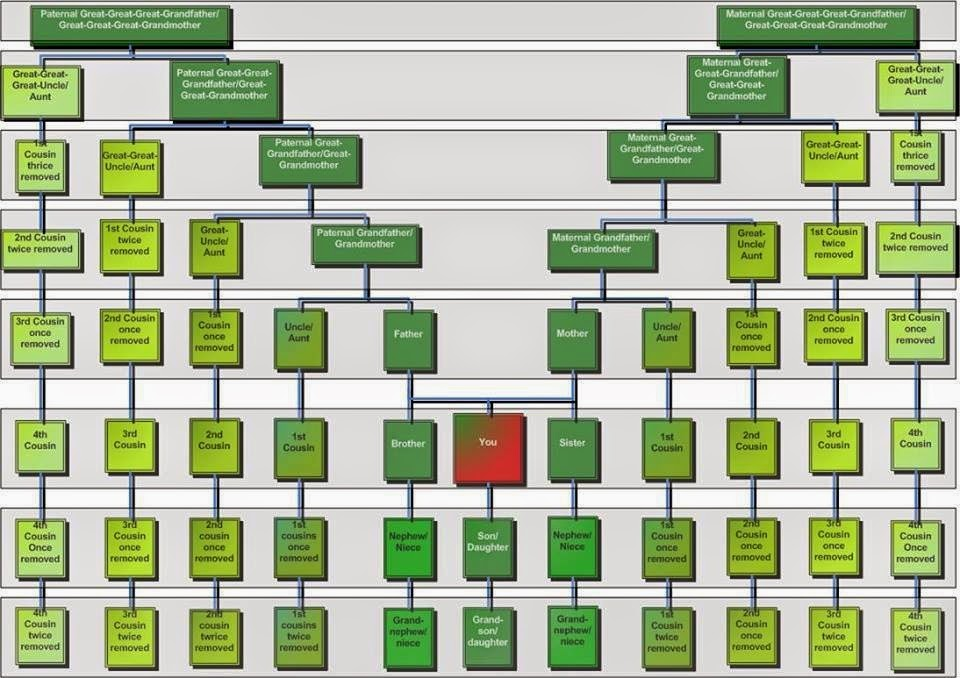 Jim\u0027s Genealogy Gems CAN A FIRST COUSIN, ONCE REMOVED, RETURN?